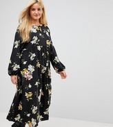 Alice & You Smock Dress In Sparse Floral