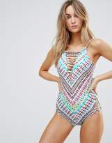 Hobie Multicolour Tie Dye Swimsuit