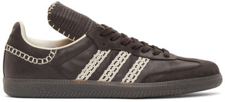 Wales Bonner Black adidas Originals Edition Tongue Samba Sneakers