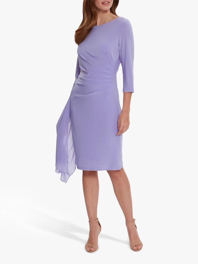 Thumbnail for your product : Gina Bacconi Jamina Midi Dress, Spring Lavendar