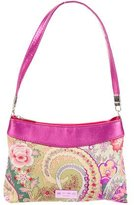 Etro Paisley Canvas Shoulder Bag