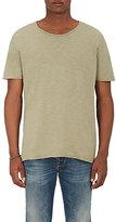 Nudie Jeans Men's Roger Cotton Slub Jersey T-Shirt-WHITE