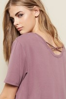 Garage Cross Back Tunic Tee