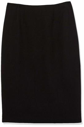 Kasper Women's Petite Solid Skimmer Skirt