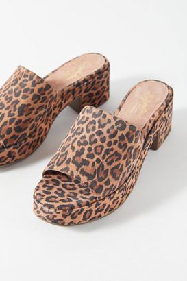 Seychelles One Of A Kind Leopard Platform Sandal
