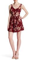 Reverse Long Weekend Floral Print Dress