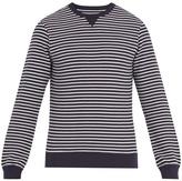 Orlebar Brown Pierce striped stretch-cotton sweatshirt