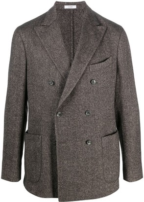 Boglioli Double-Breasted Button Up Jacket