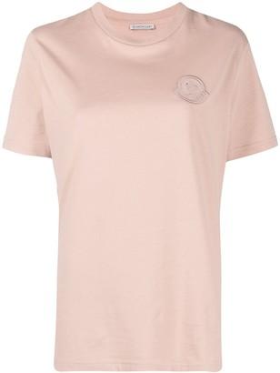 Moncler tonal logo-patch T-shirt
