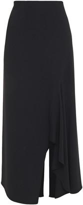 Roland Mouret Stretch-crepe Midi Skirt