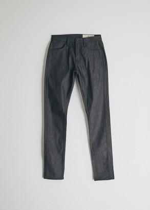 Rogue Territory Men's Strong Taper Denim Jeans in Dark Indigo, Size 30   100% Cotton