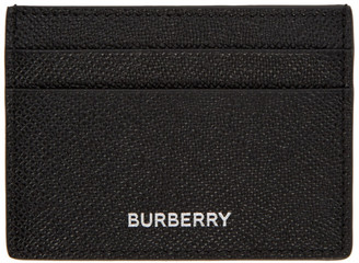 Burberry Black Sandon Card Holder