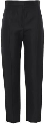 Balenciaga Satin-crepe Slim-leg Pants