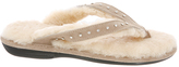Sand Sheepskin Flip-Flop - Women