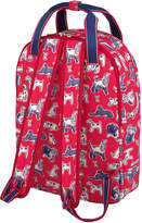 Cath Kidston Squiggle Dogs Multi Pocket Backpack