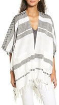 Echo Women's Blanket Stripe Poncho