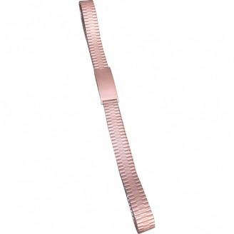 Marc Jacobs Silver Metal Belts