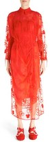 Simone Rocha Women's 'Spooky' Floral Embroidered Dress