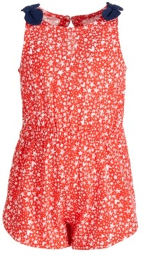 First Impressions Baby Girls Cotton Star Heart Romper, Created for Macy's