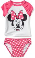 Old Navy 2-Piece Disney© Minnie Mouse Rashguard Set for Toddler