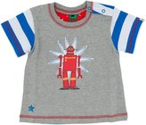 Hatley Graphic Tee (Baby) - Robots-3-6 Months