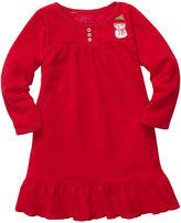 Carter's Kids Pajamas, Little Girls and Girls Snowman Nightgown