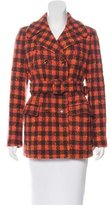 Philosophy di Alberta Ferretti Virgin Wool Tweed Coat