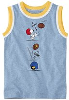 Peanuts Boys Tank in Supersoft Jersey