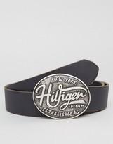 Tommy Hilfiger Thd Buckle Belt In Black