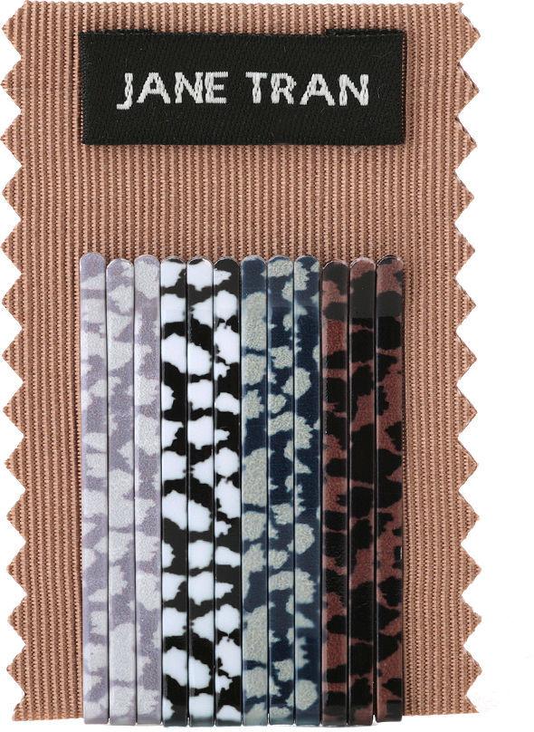 Jane Tran Animal Print Bobby Pin Set (small), B 1 ea