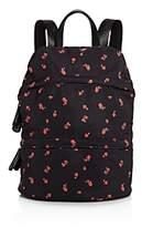 Street Level Floral Nylon Backpack