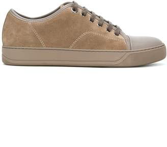 Lanvin toe capped sneakers