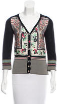 Etro Printed Button-Up Cardigan