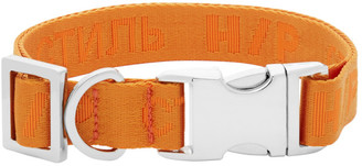 Heron Preston Orange VIP Edition Style Dog Collar