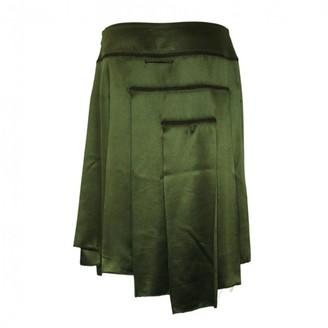 Jean Paul Gaultier Green Silk Skirts