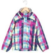 The North Face Girls' Printed Windbreaker Jacket