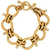 Eliza J Brinker & knotted chain-link bracelet