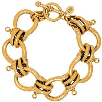 Brinker & Eliza Knotted Chain-Link Bracelet