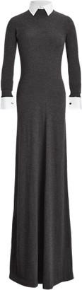 Ralph Lauren Worsted Wool Jumper Evening Dress
