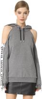Versus Cold Shoulder Sweatshirt
