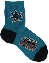 For Bare Feet San Jose Sharks Ankle TC 501 Medium Socks