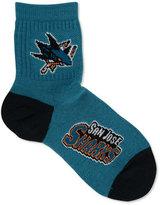 For Bare Feet San Jose Sharks Ankle TC 501 Medium Socks