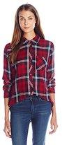 Rails Women's Hunter 1 Pocket Plaid Shirt
