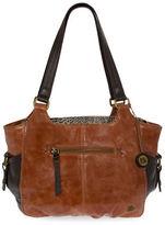 The Sak Kendra Leather Satchel Bag