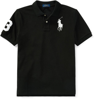 Ralph Lauren Kids Big Pony Mesh Knit Polo, Size S-XL