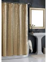 Bed Bath & Beyond Sheer Bliss 72-Inch W x 96-Inch L Extra Long Shower Curtain in Gold