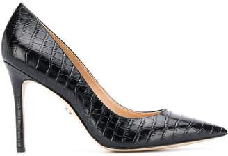 Sam Edelman Hazel crocodile-effect pumps