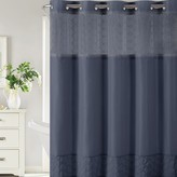 Hookless Downtown Soho Shower Curtain & Water Resistant Liner