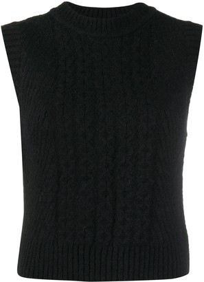 Low Classic Chunky Knit Vest
