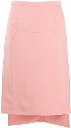 No.21 Pencil-Styled Midi Skirt